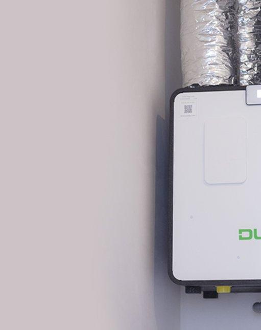 Ventilatiesysteem D met CO2 sturing