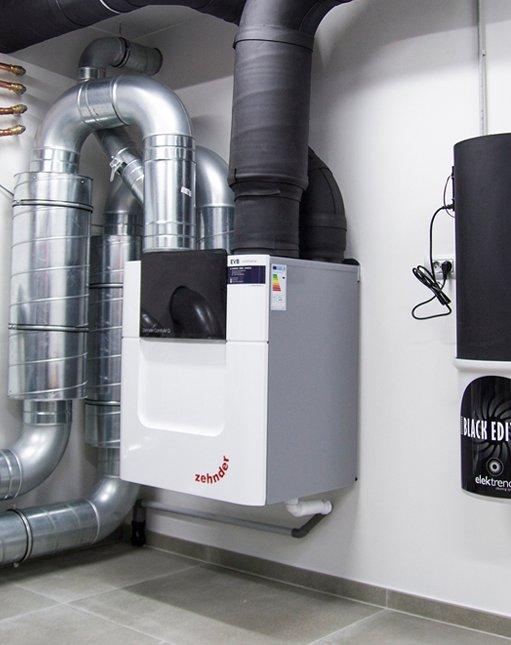 Ventilatiesysteem D & Centraal stofzuigsysteem