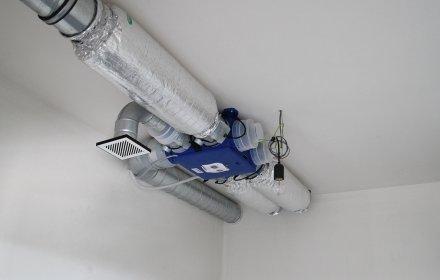 Ventilatiesysteem C+ voor 63 appartementen