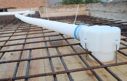 Ventilatiesysteem D voor 4 appartementen